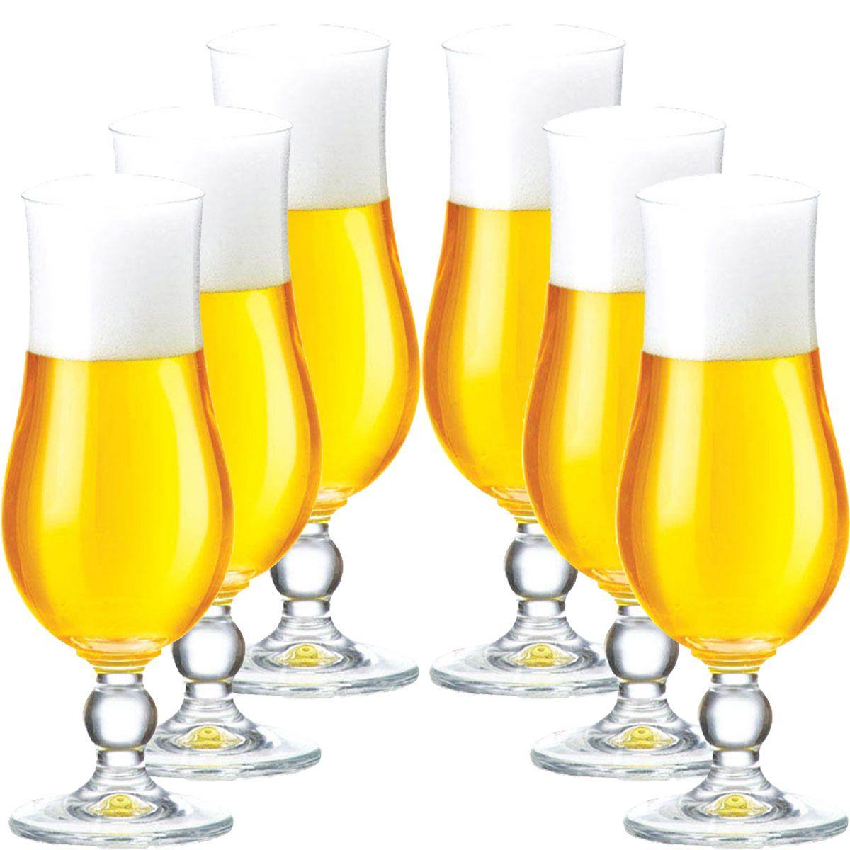 Taça de Cerveja Cristal Kassel 6 pcs