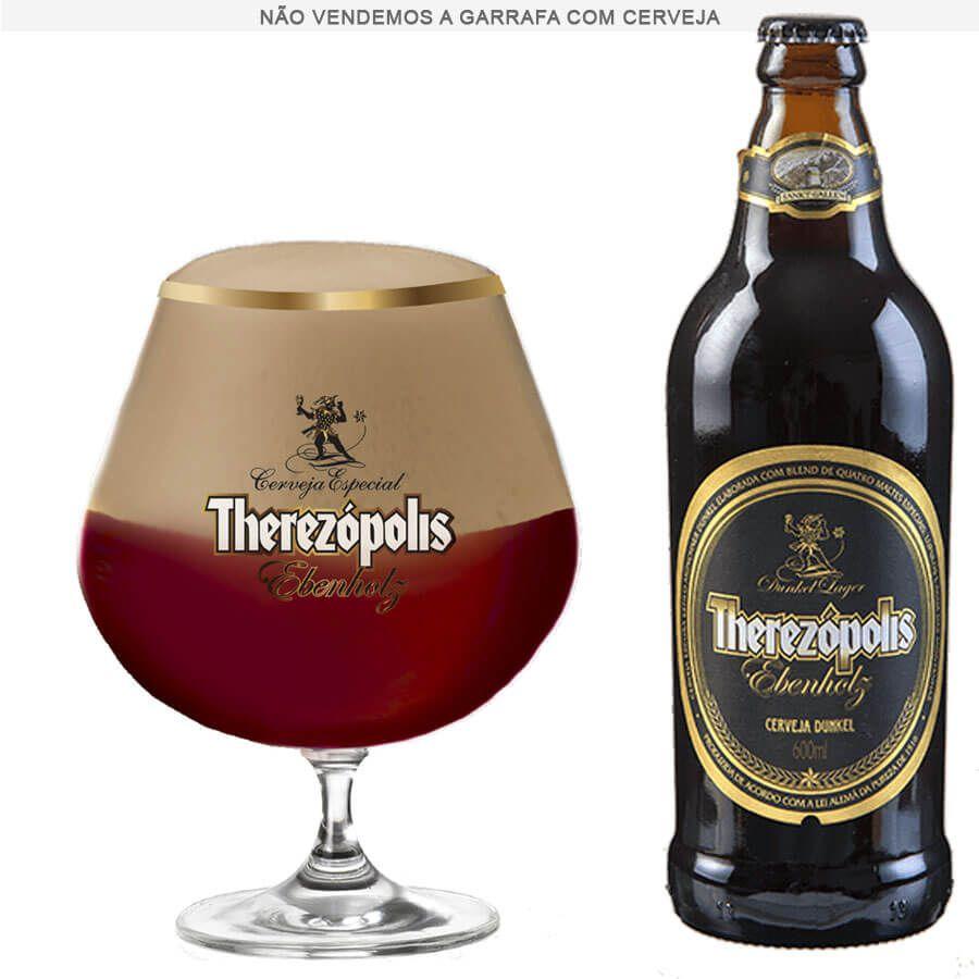 Taça de Cerveja Cristal Therezópolis Ebenholz 760ml