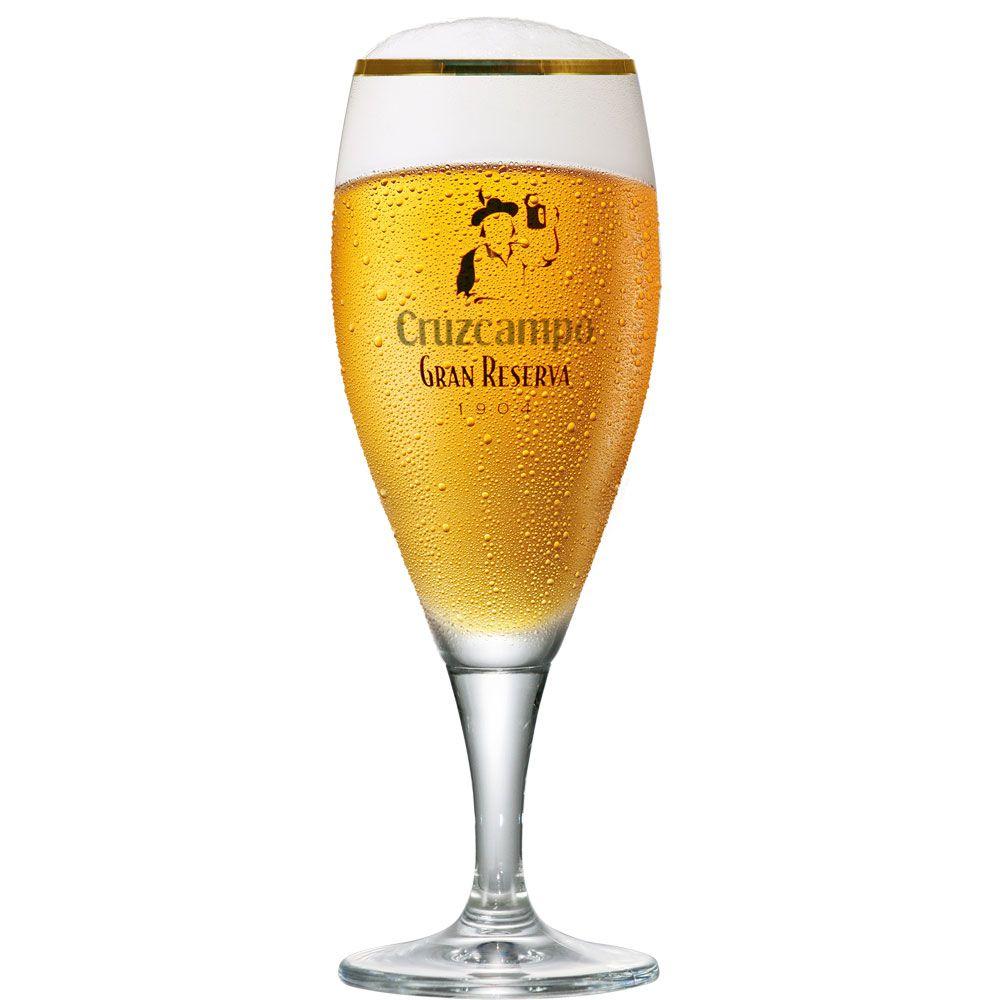 Taça de Cerveja Cruz Campos Cristal 325ml