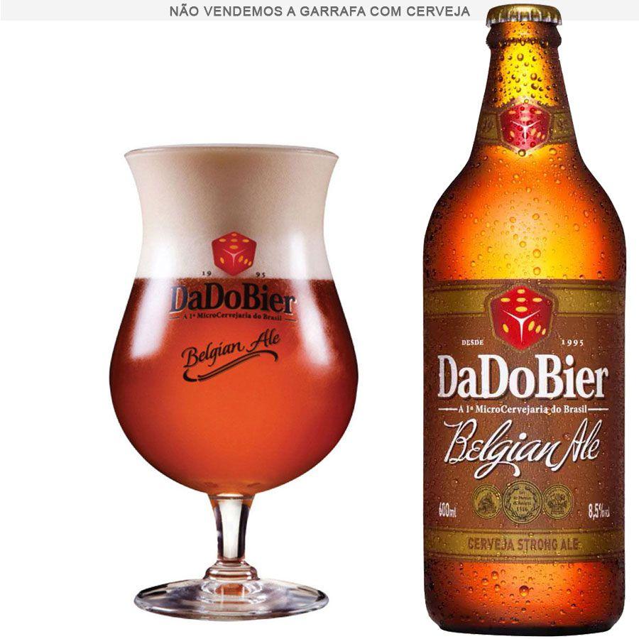 Taça de Cerveja Cristal Dado Bier Belgian Ale de 415 ml