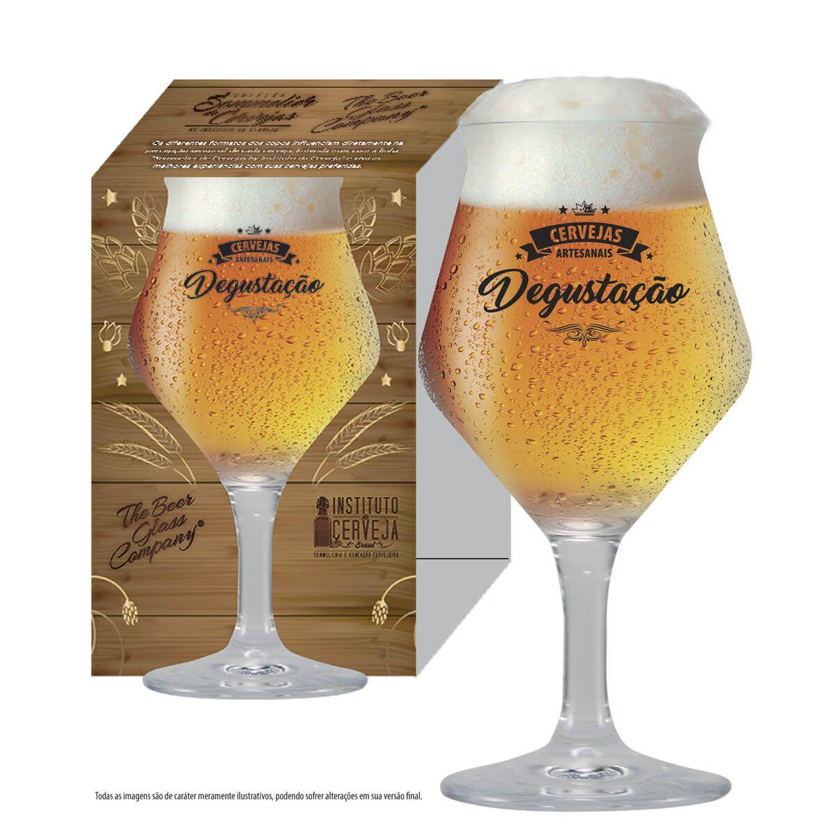 Taça de Cerveja Degustação - Coleção Sommelier de Cerveja