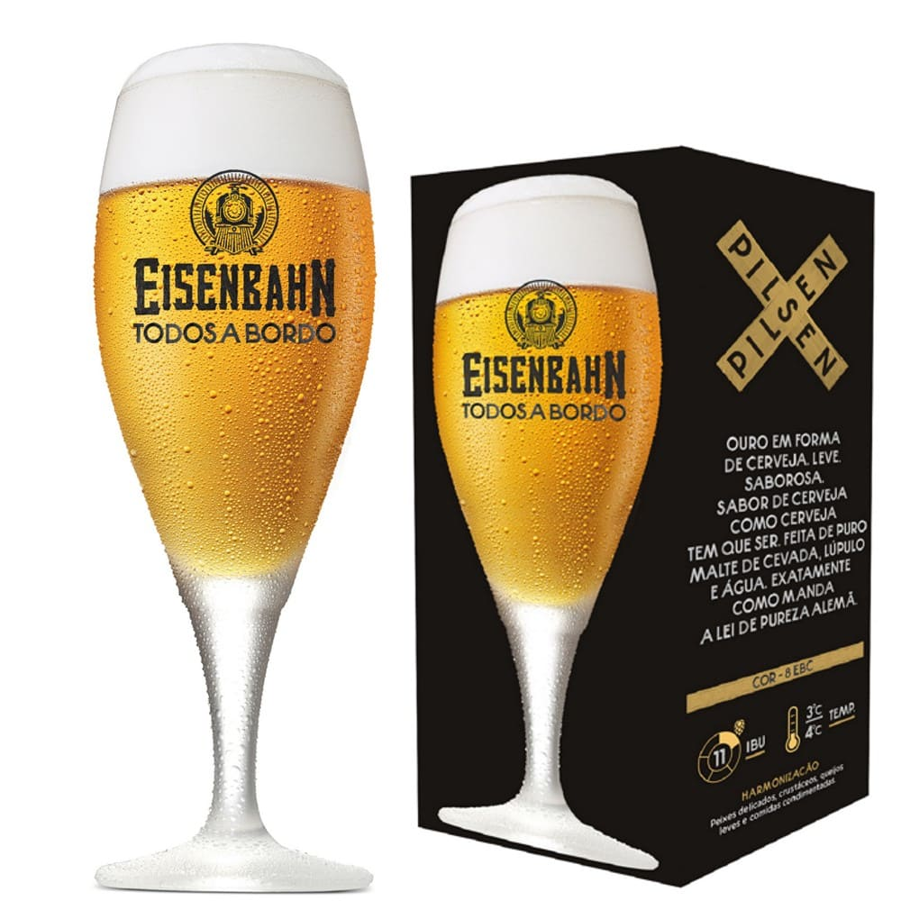 Taça de Cerveja Eisenbahn 400ml