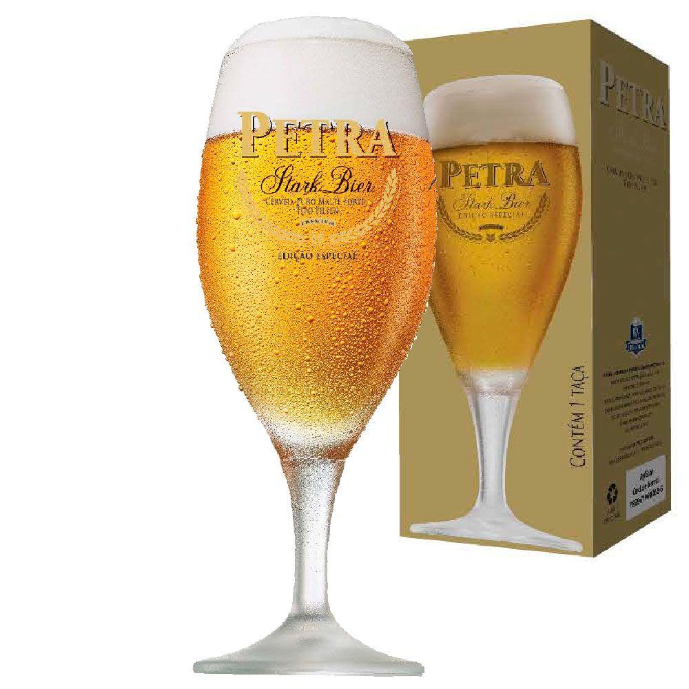 Taça de Cerveja Petra Stark Bier 400ml