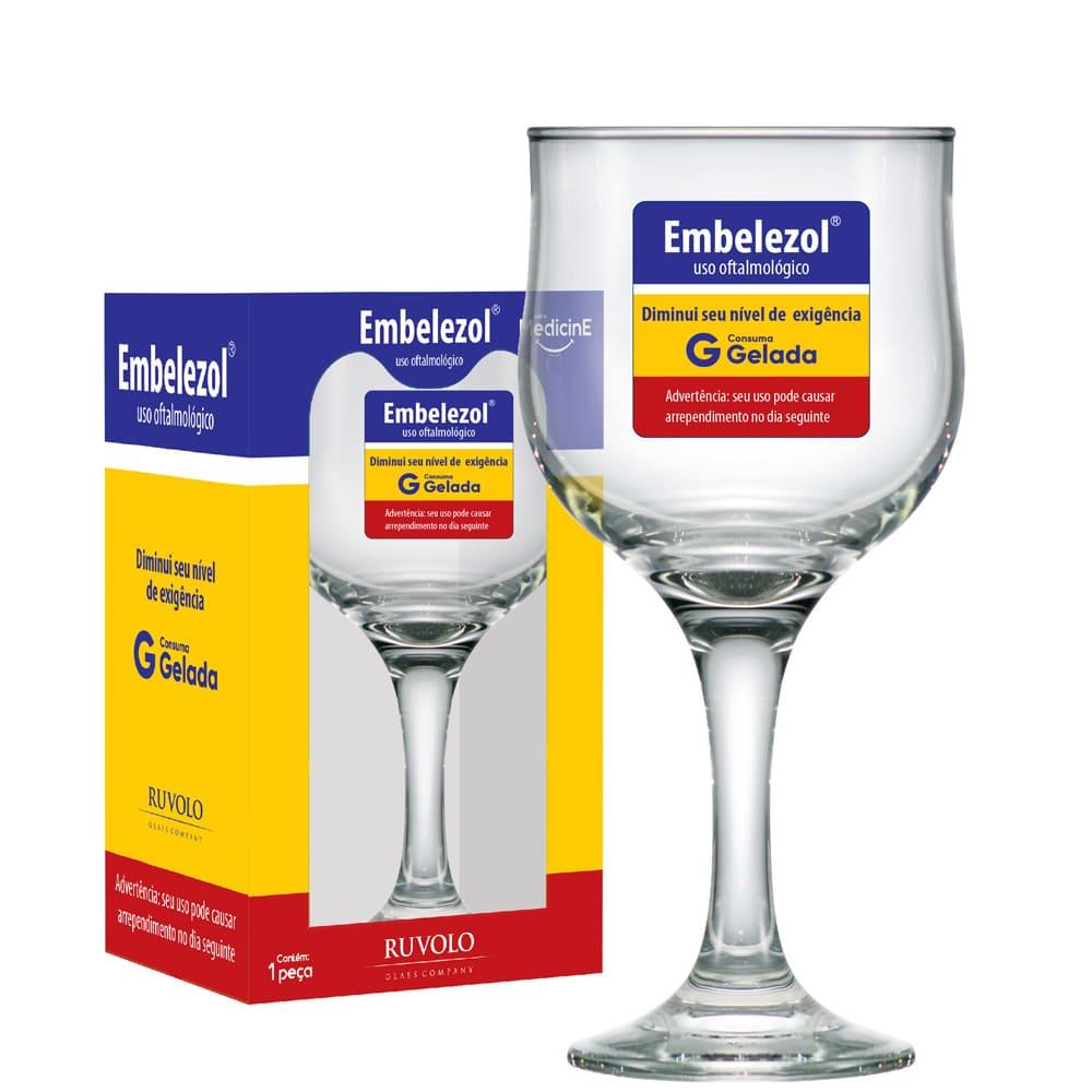 Taça de Cerveja Barcelona Linha Medicine 300ml