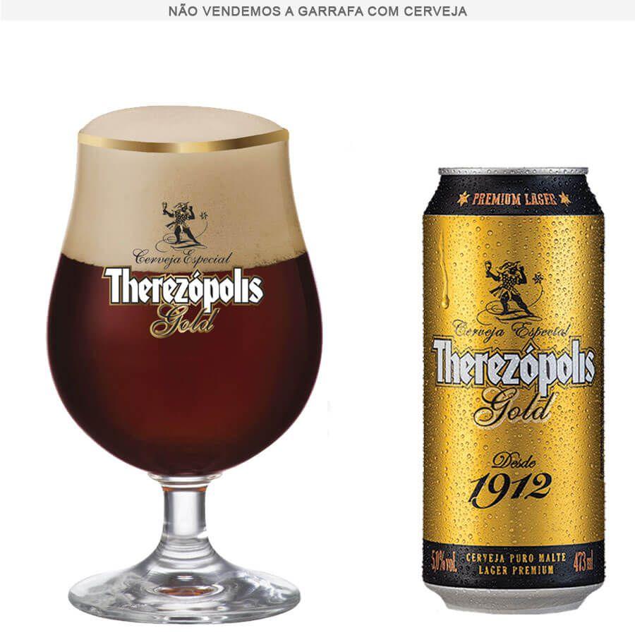 Taça de Cerveja Therezopolis Gold 380ml