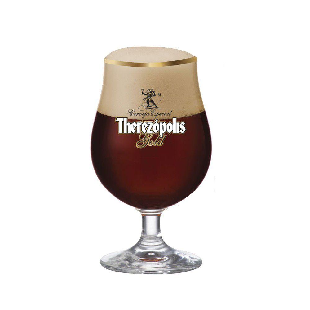 Taça de Cerveja Therezópolis Gold Cristal 380ml
