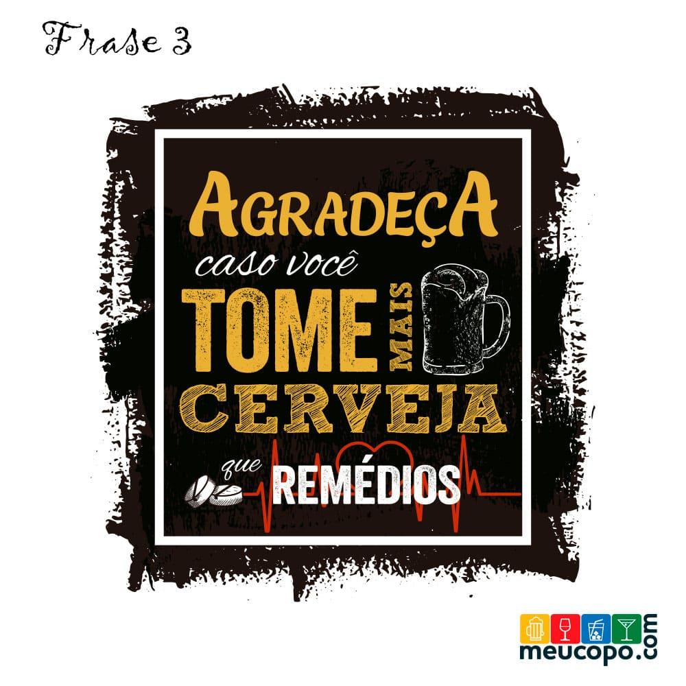Taça de Cerveja Vidro Funny Barcelona 370 ml
