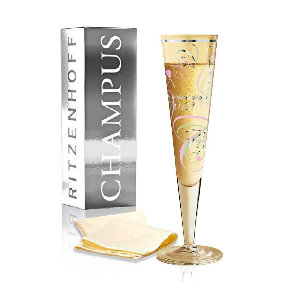 Taça de Champanhe Cristal Ritzenhoff Glass Debora Jedwab - Special 200ml