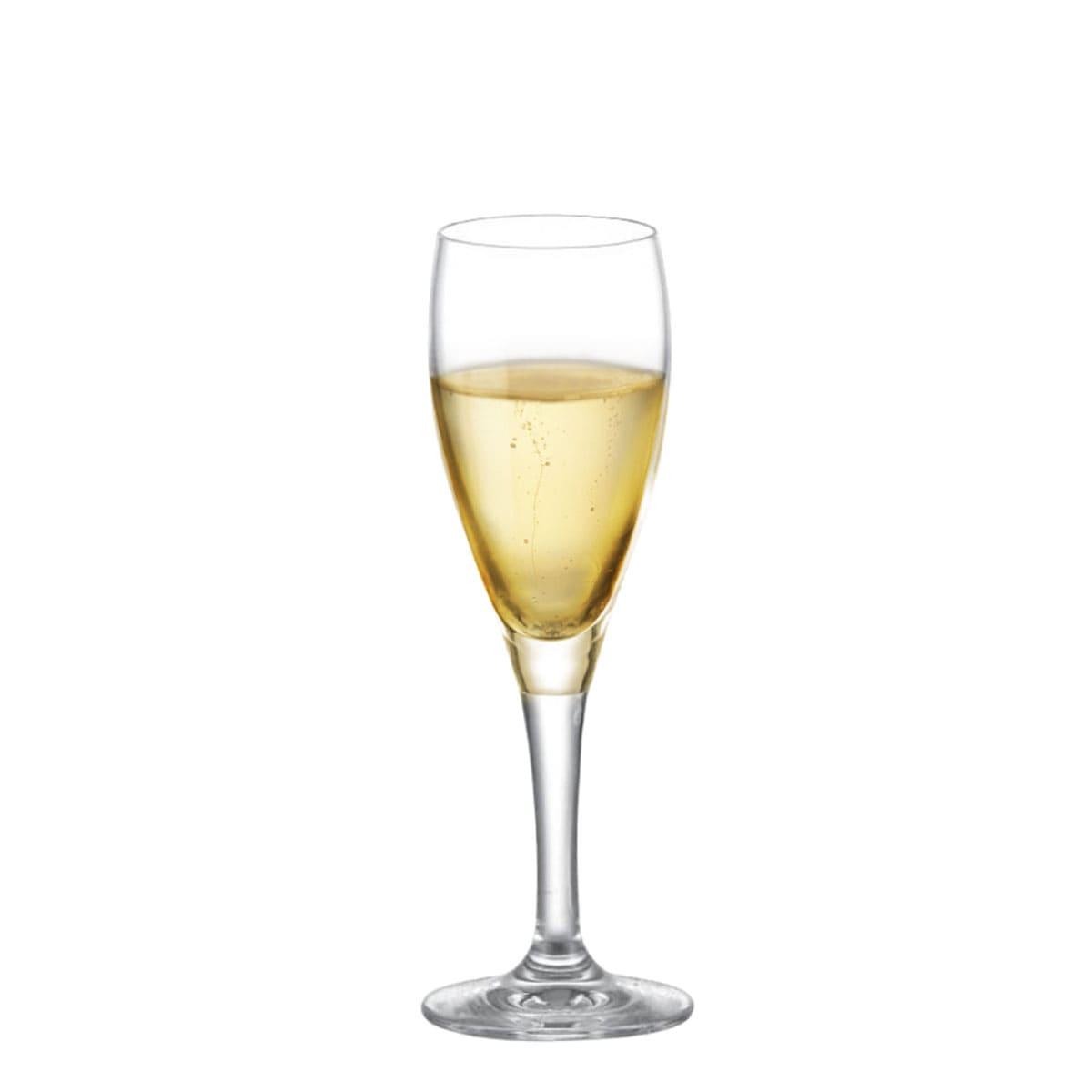 Taça de Champanhe de Cristal Arcádia 155ml 6 pcs