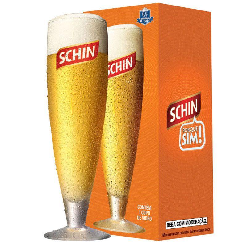 Taça de Cristal 380ml para Cerveja Schin