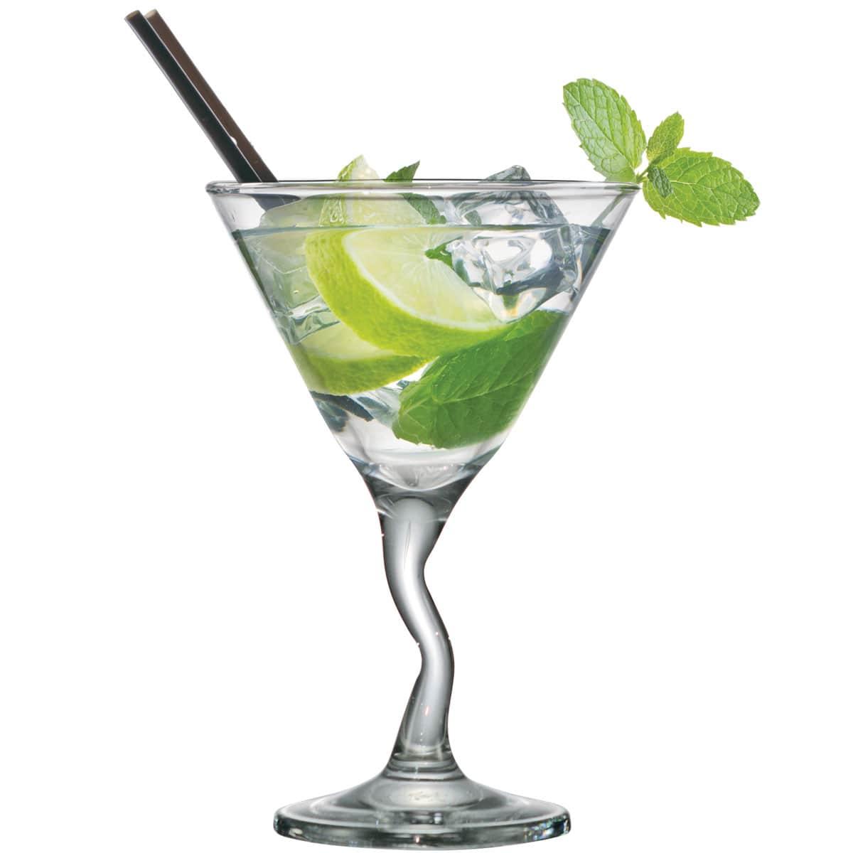 Taça de Martini Twister 225ml