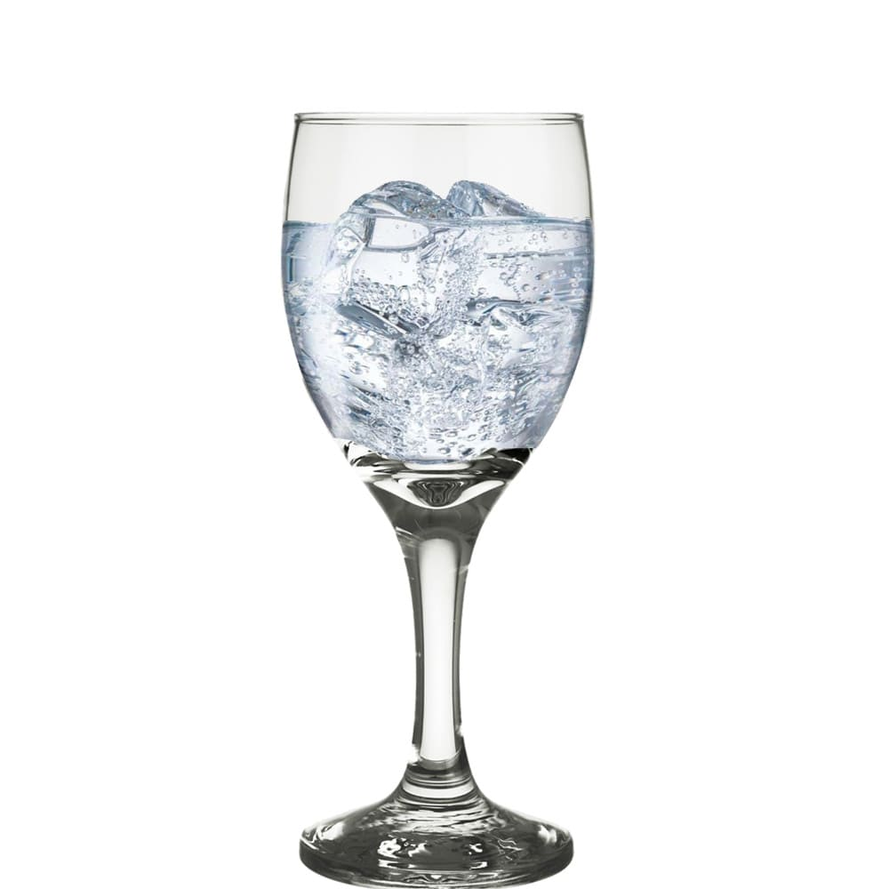Taça de Vidro para Água América de 300ml 6 Pcs