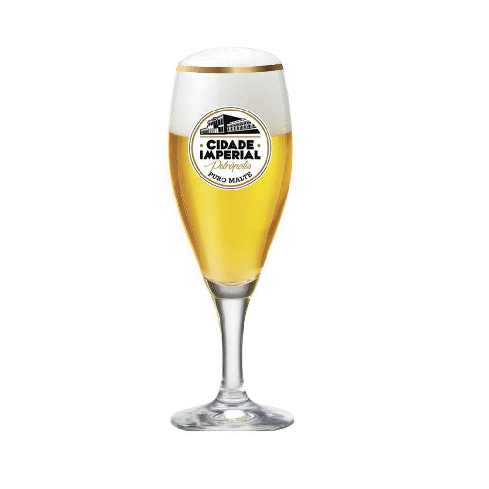 Taça de Vidro para Cerveja Gourmet P 320ml Cidade Imperial