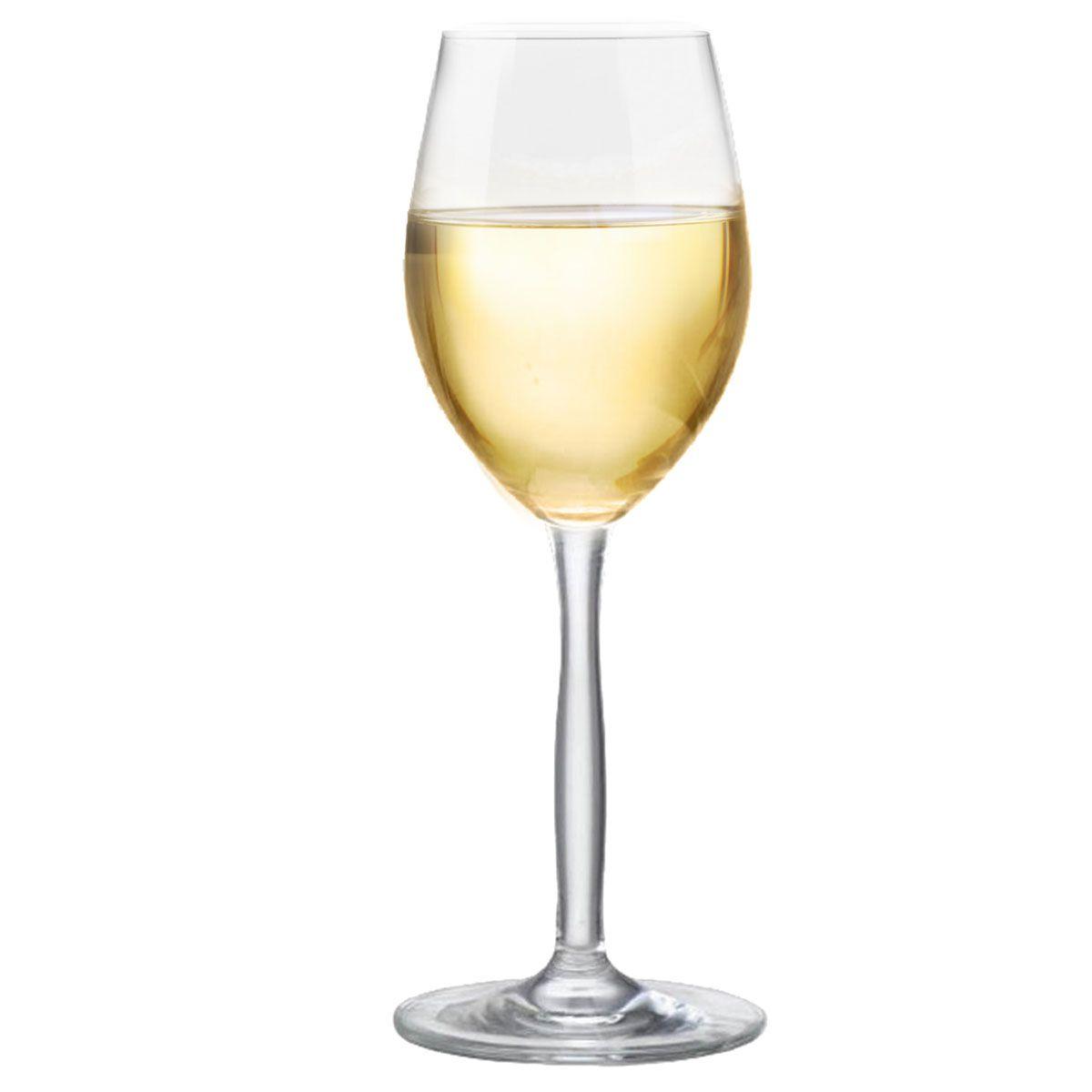 Taça de Vinho Branco Bordeaux de Cristal 210ml