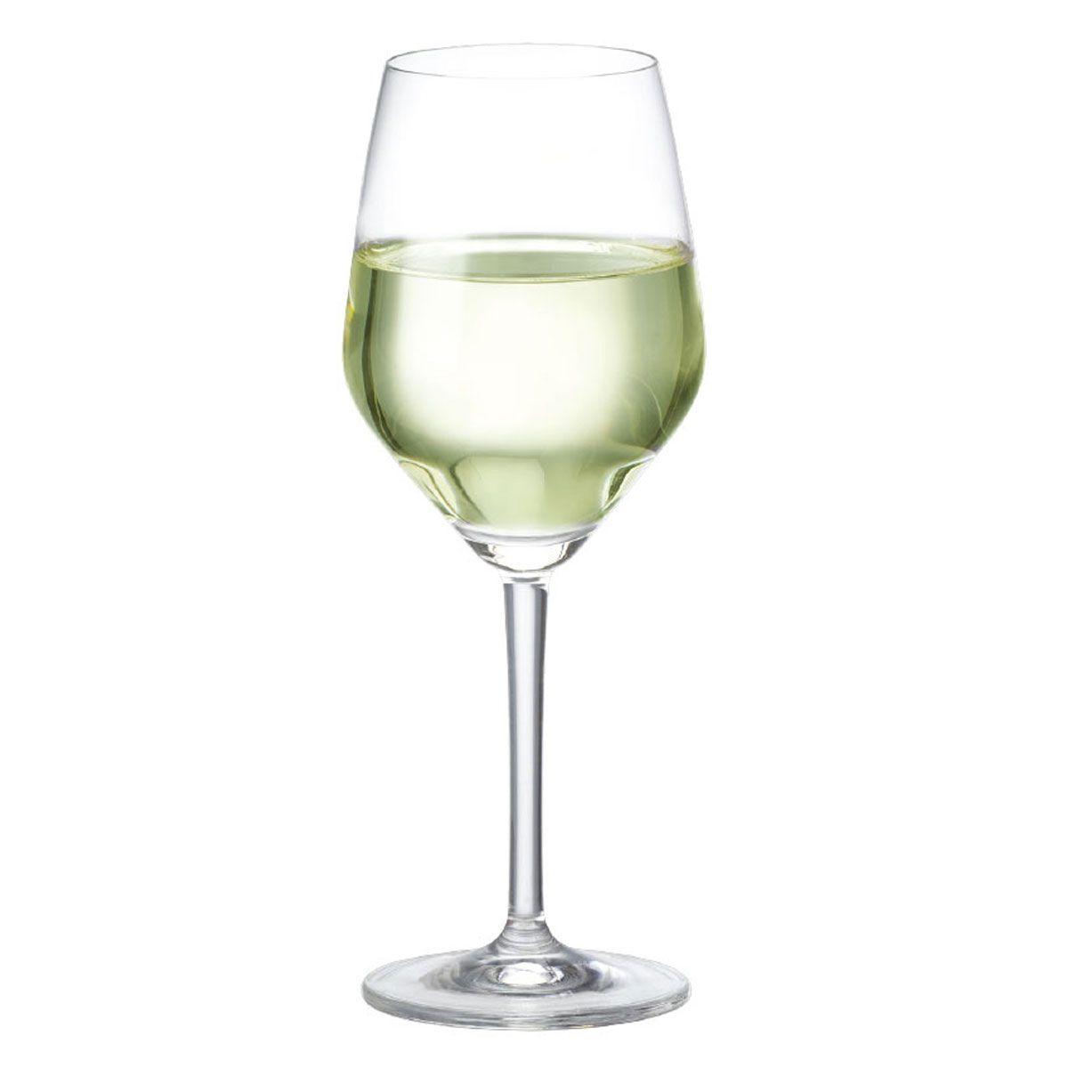 Taça de Vinho Branco Cristal Elegance 375ml