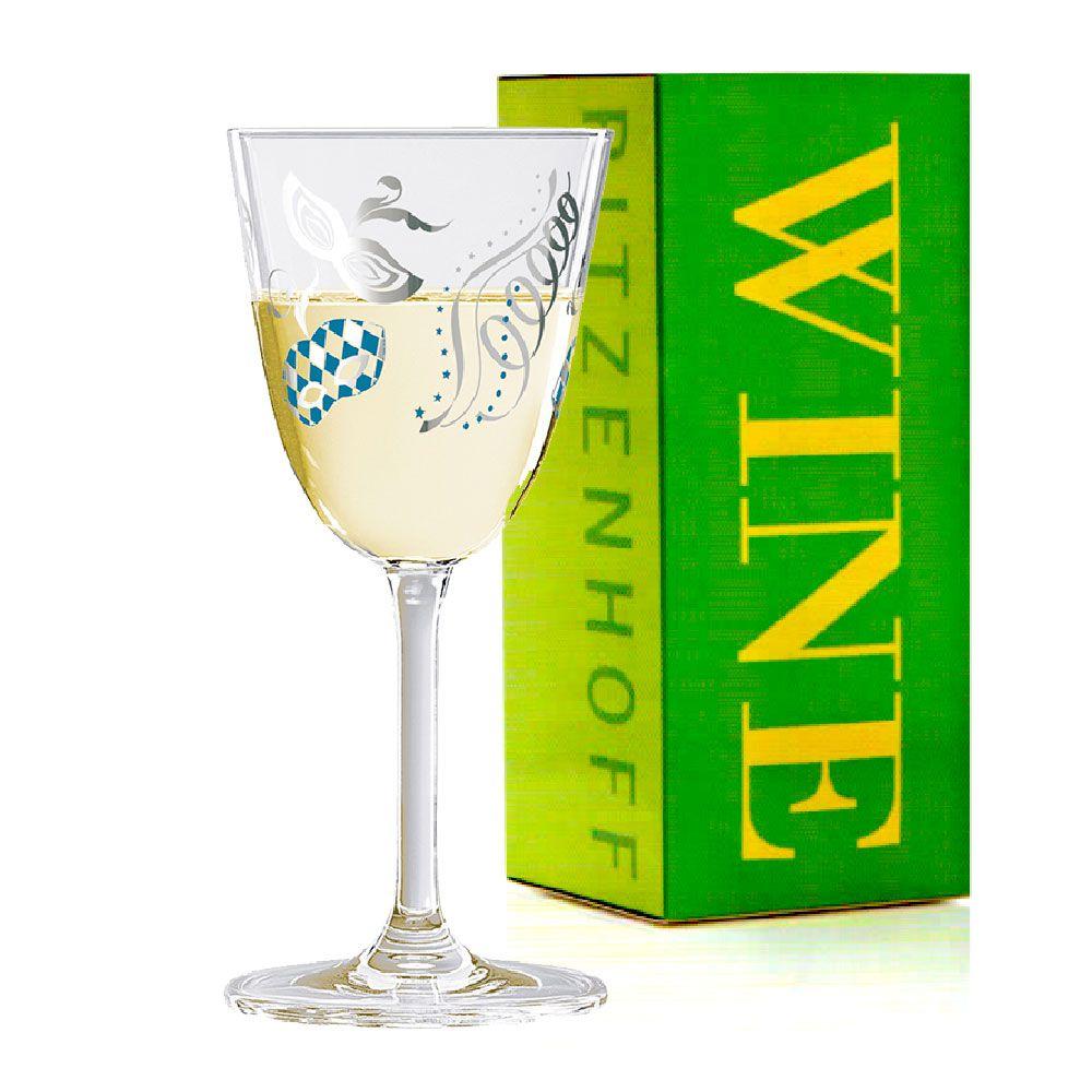 Taça de Vinho Branco Cristal Ritzenhoff Whitewine Glass A. Ladeiro 2010 200ml