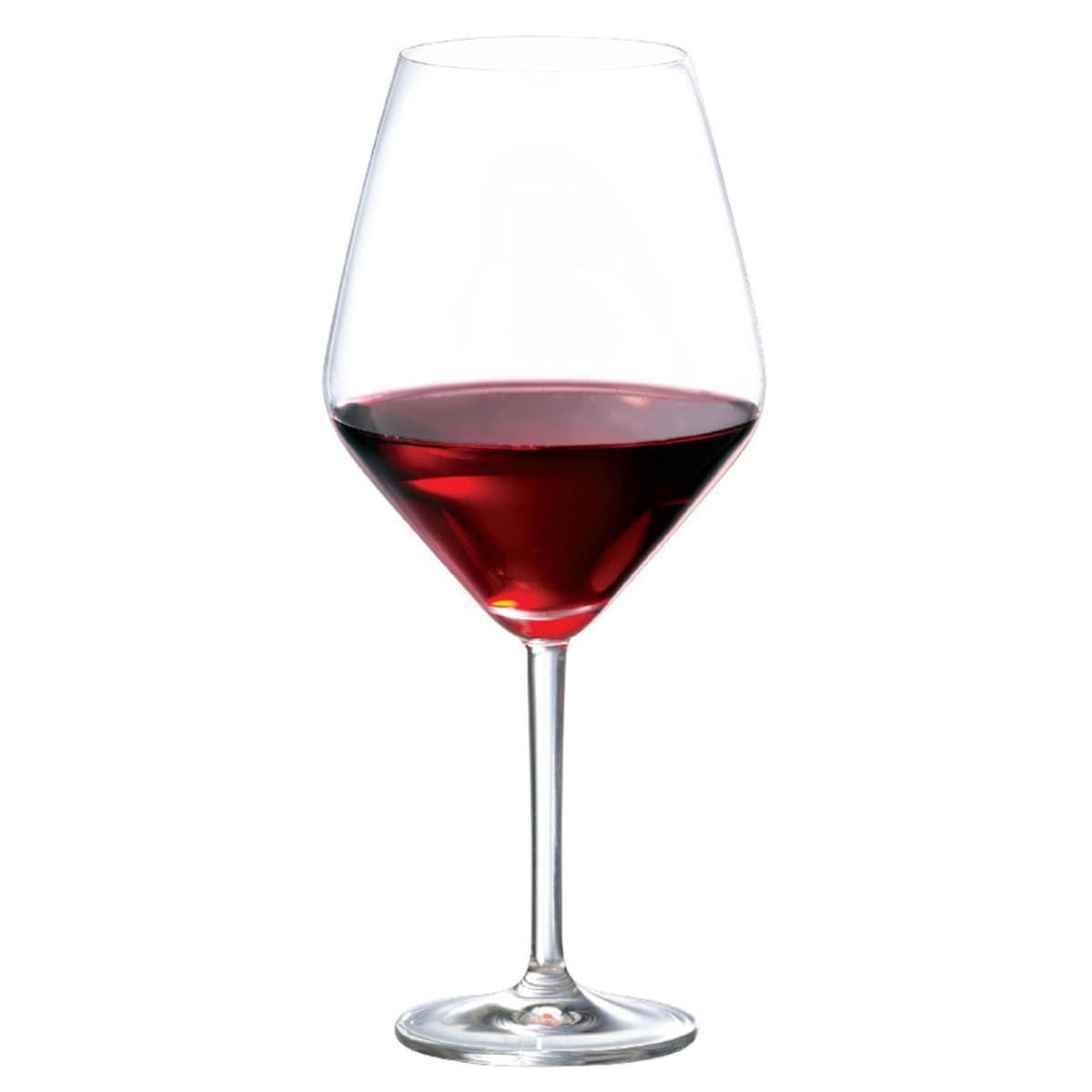 Taça de Vinho Tinto Cristal Elegance 775ml