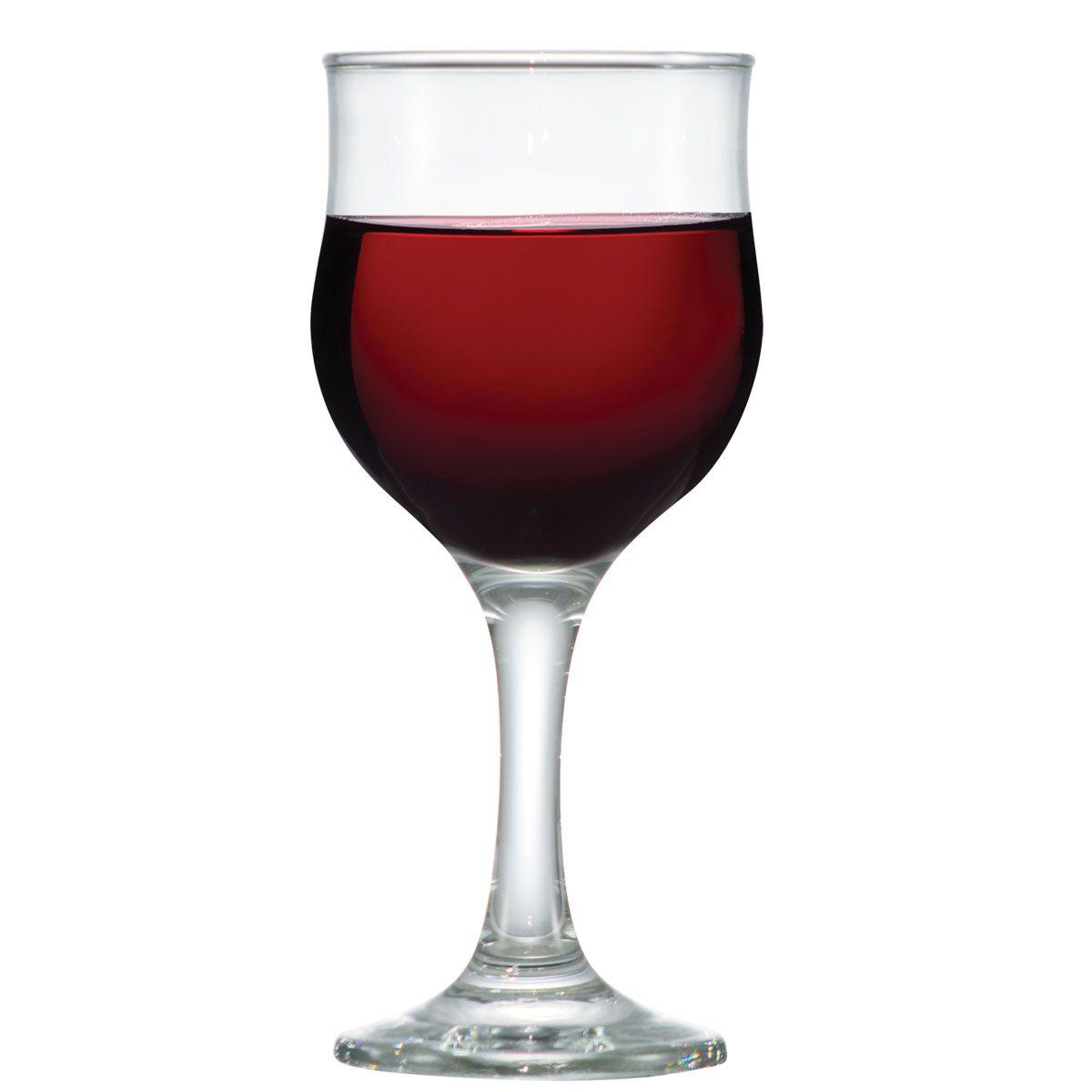 Taça de Vinho Tinto Vidro Barcelona 240ml