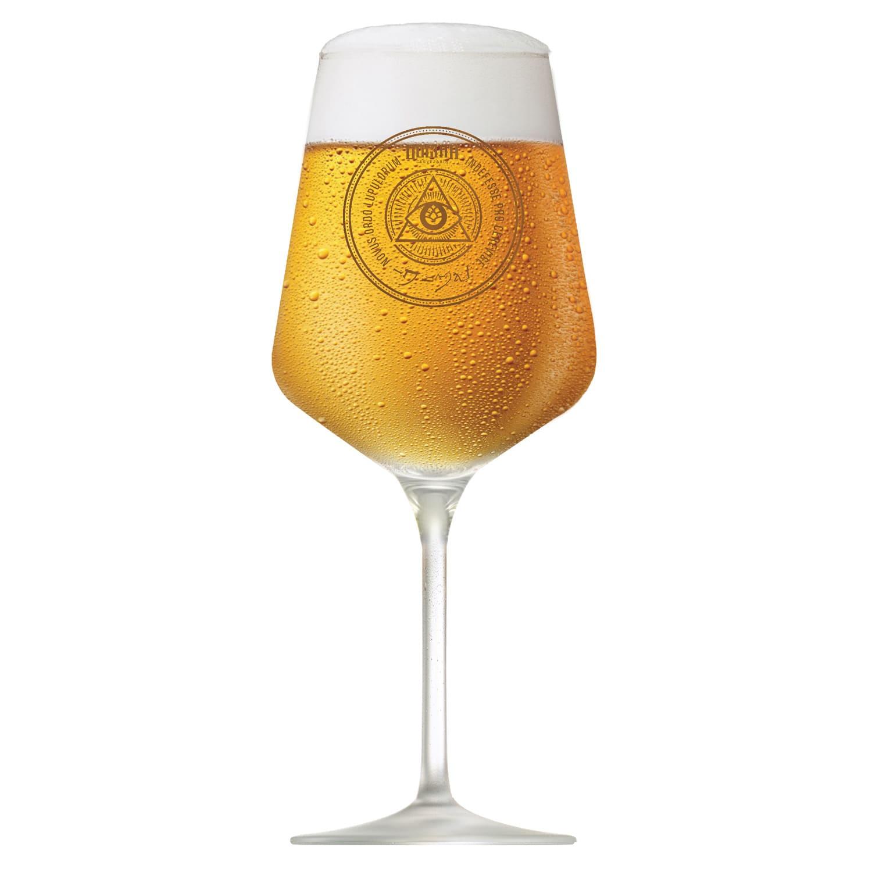 Taça DOGMA de cerveja 390ml Cristal
