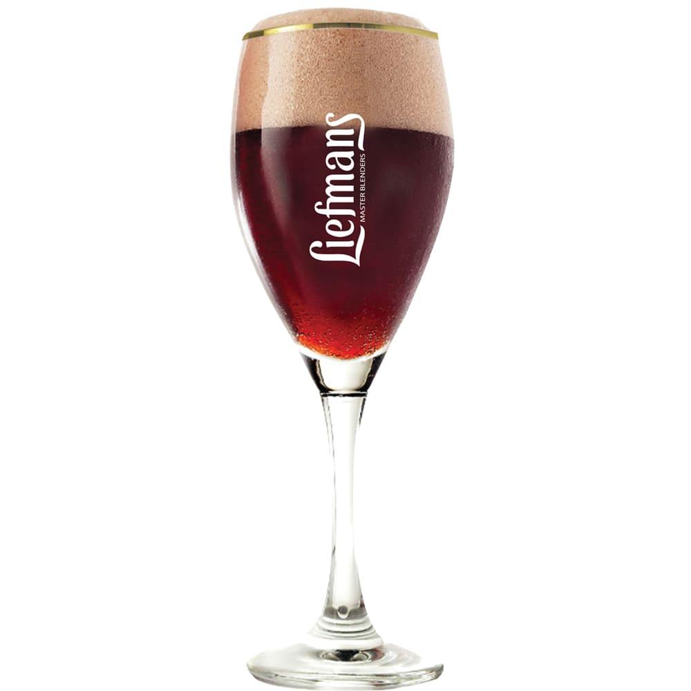 Taça para Cerveja Liefmans 350ml Vidro Cristalizado