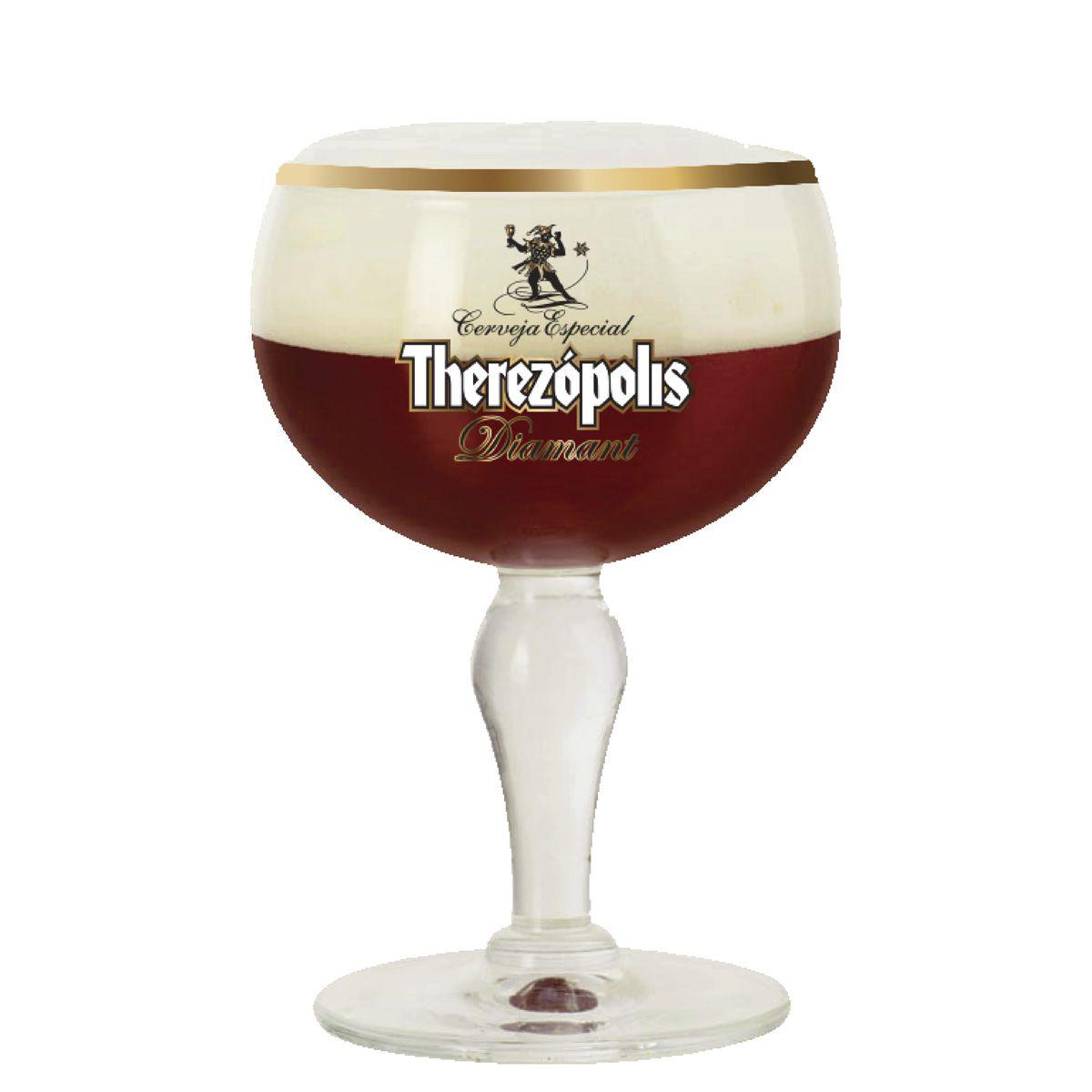 Taça para Cerveja - Therezópolis Diamant Cristal 445ml