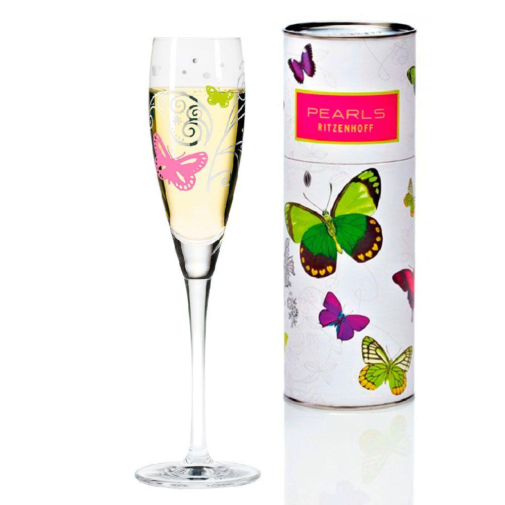 Taça para Prosecco Cristal Ritzenhoff Glass Nicole Winter 2008 160ml