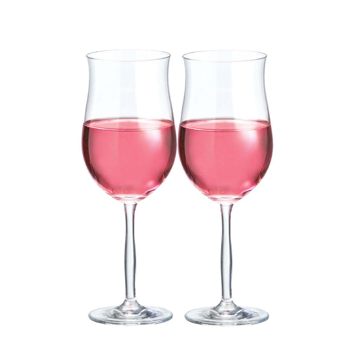 Taça Vinho - Bordeaux Rosé De 430ml C/ 2 Unid