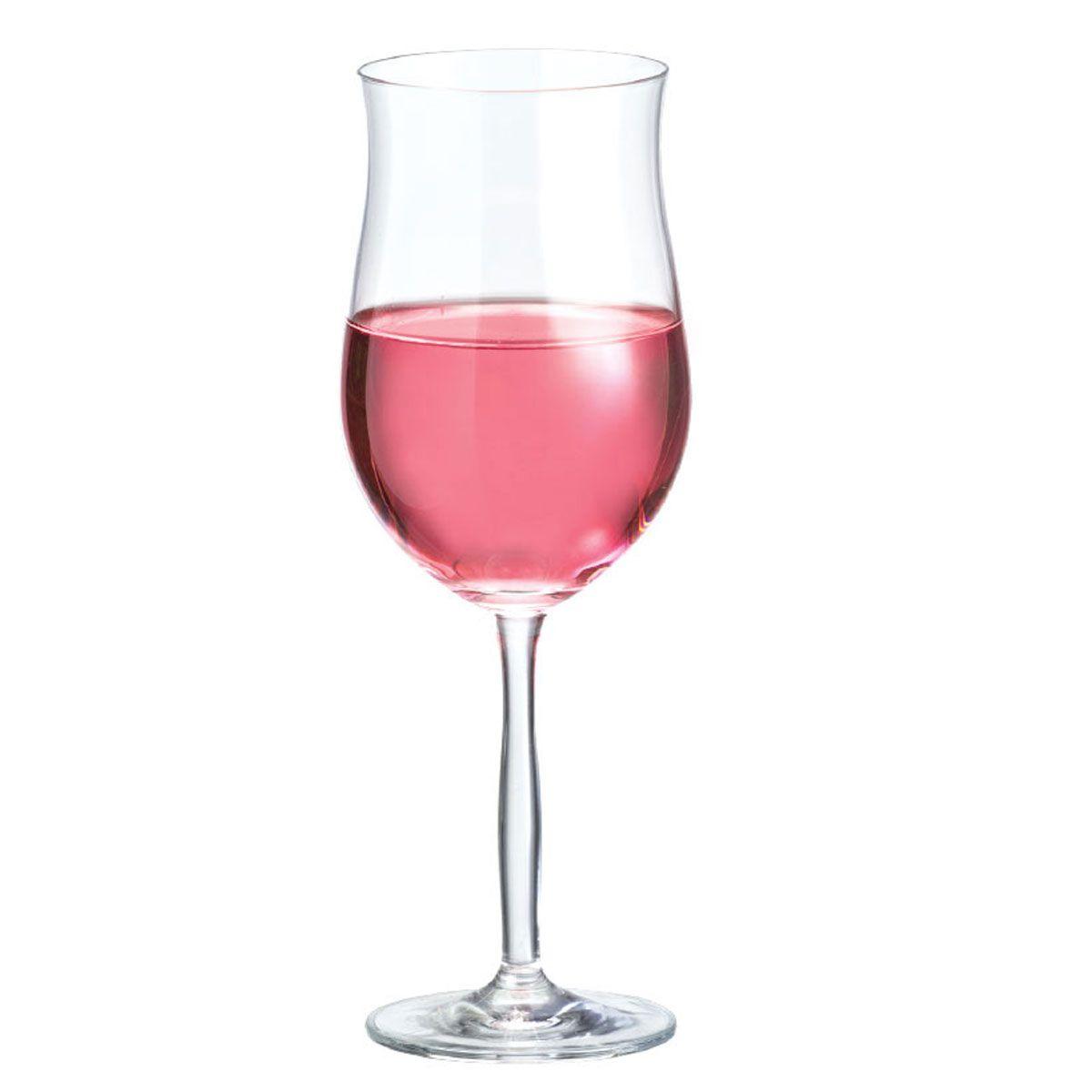 Taça Vinho - Bordeaux Rosé De 430ml C/ 6 Unid