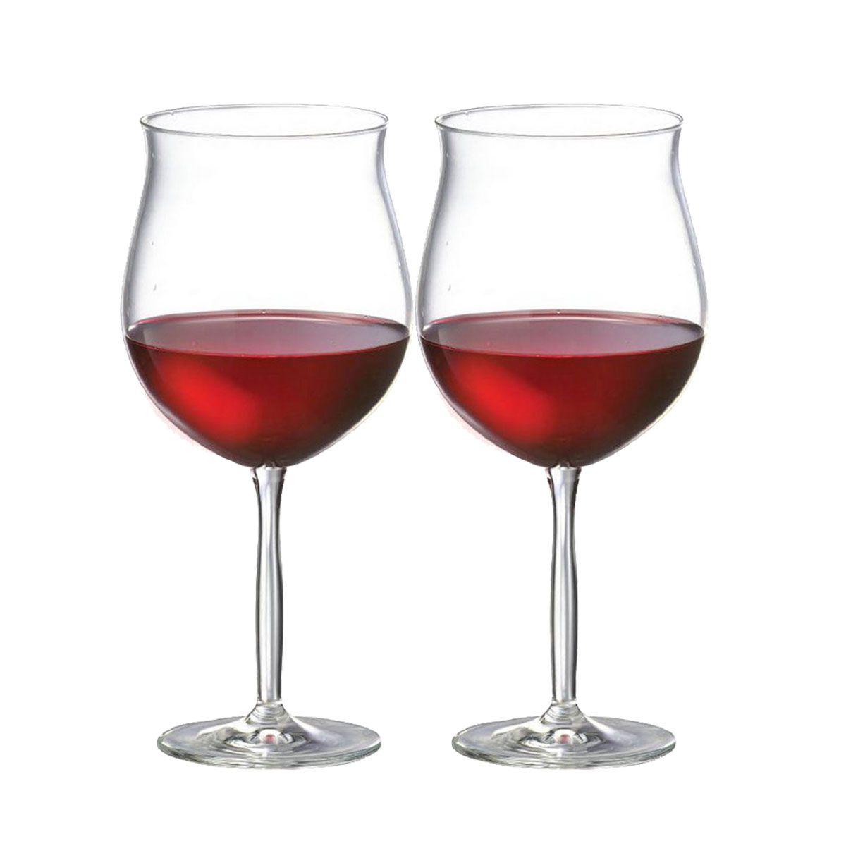 Taça Vinho Cristal - Tinto Bordeaux 550ml C/ 2 pcs