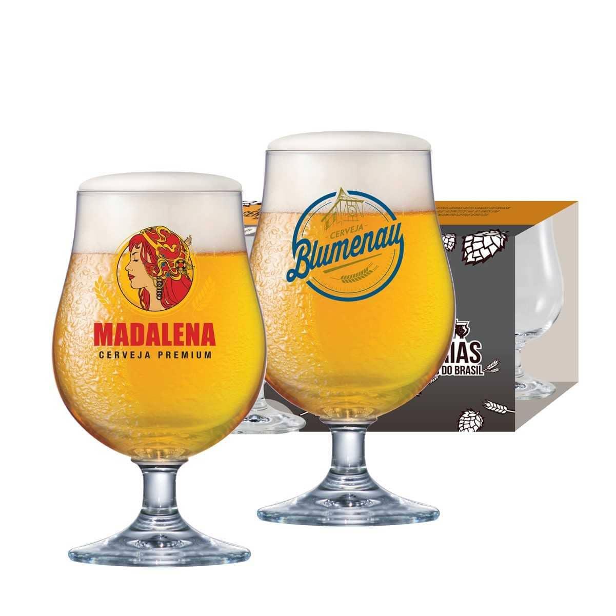 Taças Bock Festival da Cerveja Blumenau/Madalena 380ml