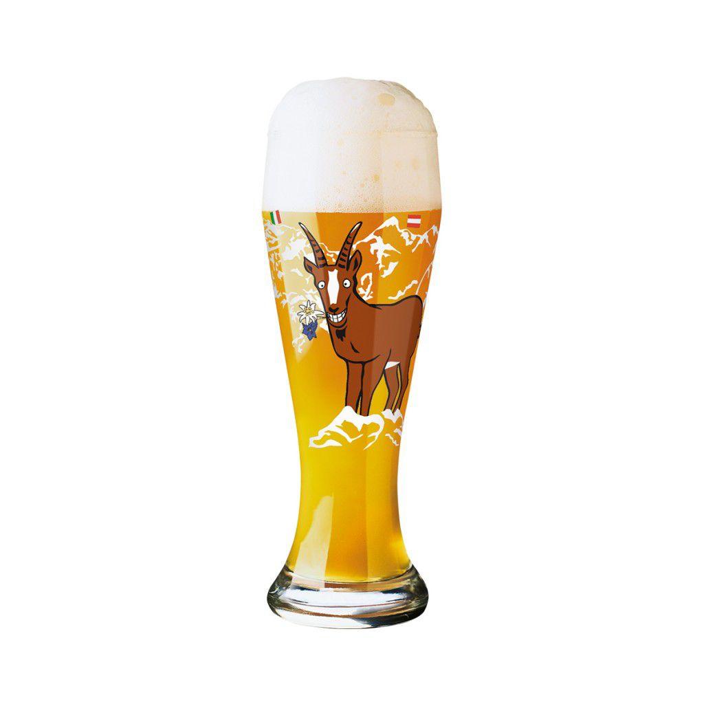 Taça de Cerveja Vidro Ritzenhoff Wheatbeer Andrea Hilles 2011 500ml