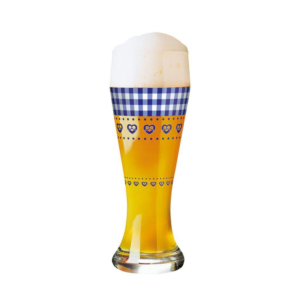 Taça de Cerveja Vidro Ritzenhoff Wheatbeer Christiane Elle 2011 500ml