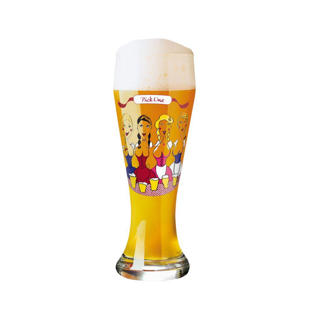 Taça de Cerveja Vidro Ritzenhoff Wheatbeer Dominika Przybylska 2011 500ml