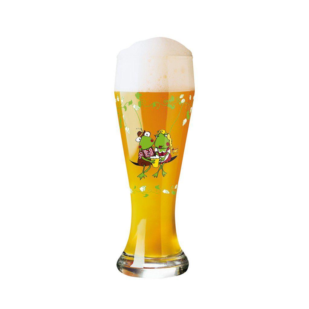 Taça de Cerveja Vidro Ritzenhoff Wheatbeer Dominika  Przybyska 2011 500ml