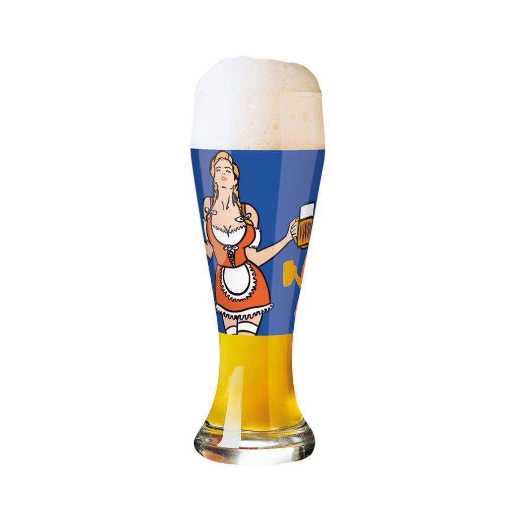 Taça de Cerveja Vidro Ritzenhoff Wheatbeer Michel Canetti 2010 500ml