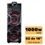 Caixa Amplificada Amvox ACA 1005 Titan - 1000w RMS Auto falante Potente Torre de Som