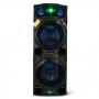 Caixa de Som Amplificada PULSE SP501 Multilaser Microfone