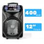 Caixa de som Amplificada Sumay Thunder black microfone