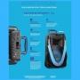 Caixa de Som Amplificada Sunny II 800W SP396 Bluetooth com Microfone