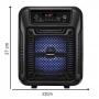 Caixa de som Bluetooth Pequena Lenoxx CA60 80w RMS Potente