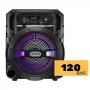 Caixa de som portátil Lenoxx CA80 Microfone Controle Remoto