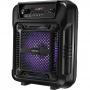 Caixinha de som pequena Lenoxx CA60 80w - Microfone Karaoke