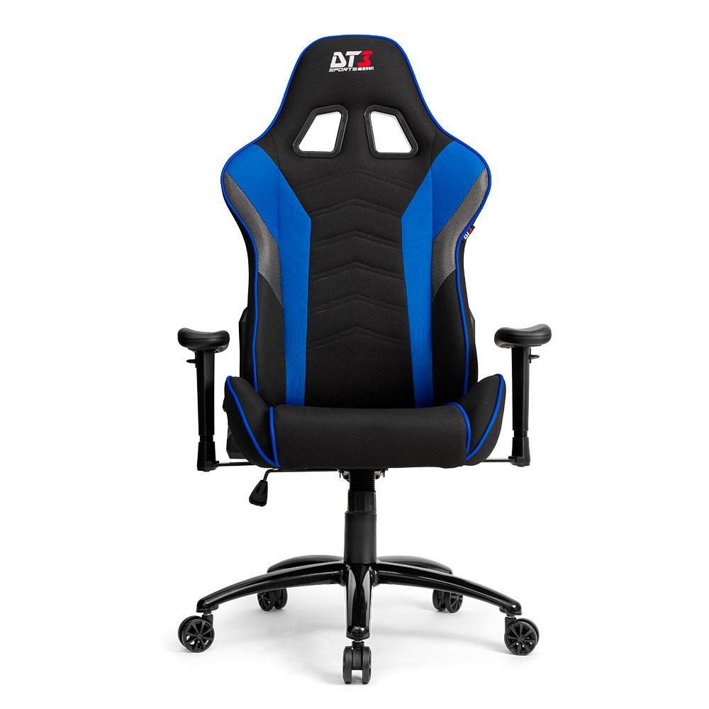 Cadeira Gamer Escritorio DT3sports Elise Fabric Blue Tecido