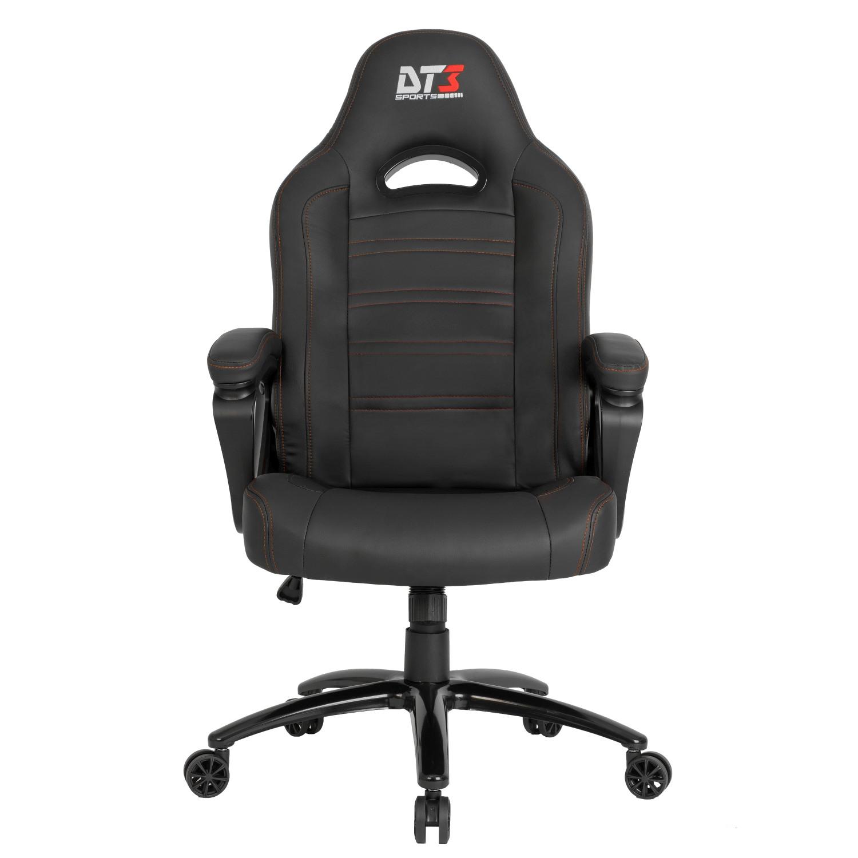 Cadeira Gamer Escritório  DT3sports GTX Preta/Laranja