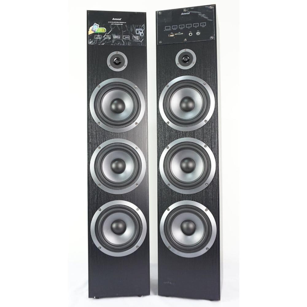 Caixa Acústica Torre Amvox ACA 720 - 720w Bluetooth