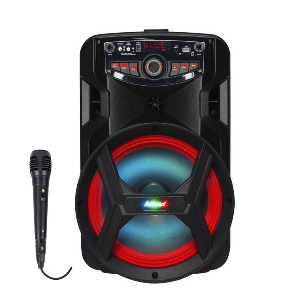 Caixa Amplificada Amvox ACA 185 NEW X - 180w com Microfone *