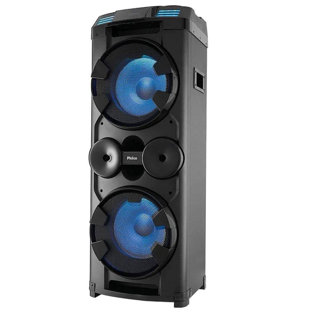 Caixa Amplificada Bluetooth Philco PCX20000 - 1800w RMS Extra Potente
