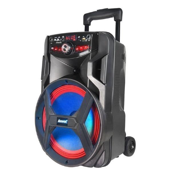 Caixa de som Amplifica Amvox ACA 250 Groove - 250w Potente