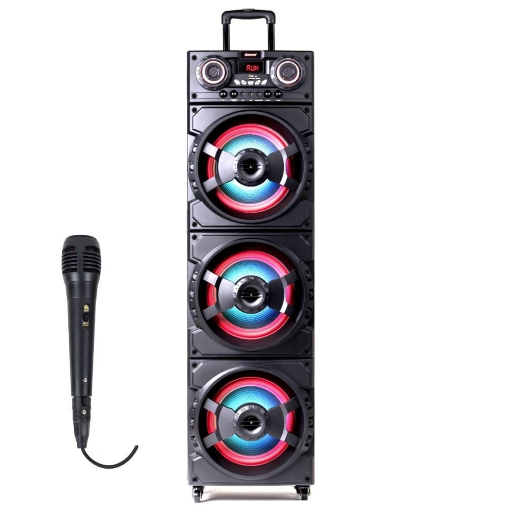 Caixa de Som Amplificada Amvox ACA1515 - com microfone