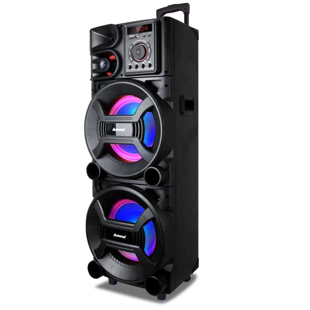 Caixa de Som Amplificada Amvox ACA 1001 NEW X - 1000w Bluetooth
